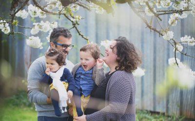 Eglantine et sa famille – Portrait Enfant – Photographe Famille