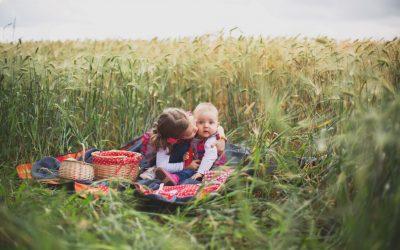 Margot & Eloïse – Portrait Enfant – Photographe Famille