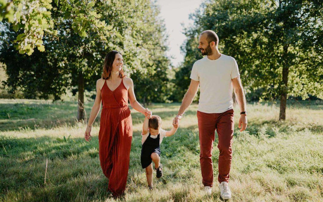 Andréa & Lionel – Séance famille – Photographe Vendée